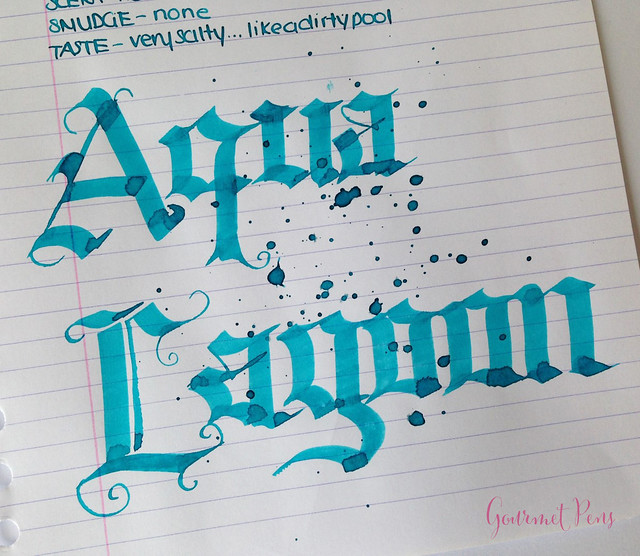 Ink Shot Review Diamine Aqua Lagoon @CouronneDuComte (7)