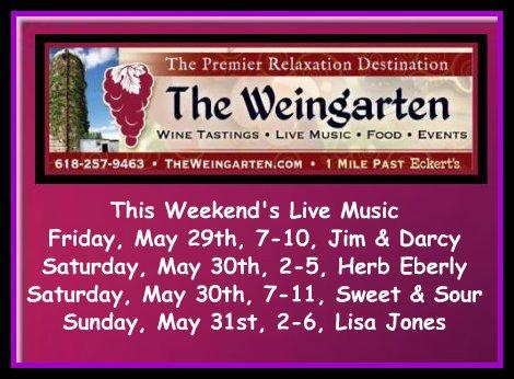 The Weingarten 5-29 thru 5-31-15