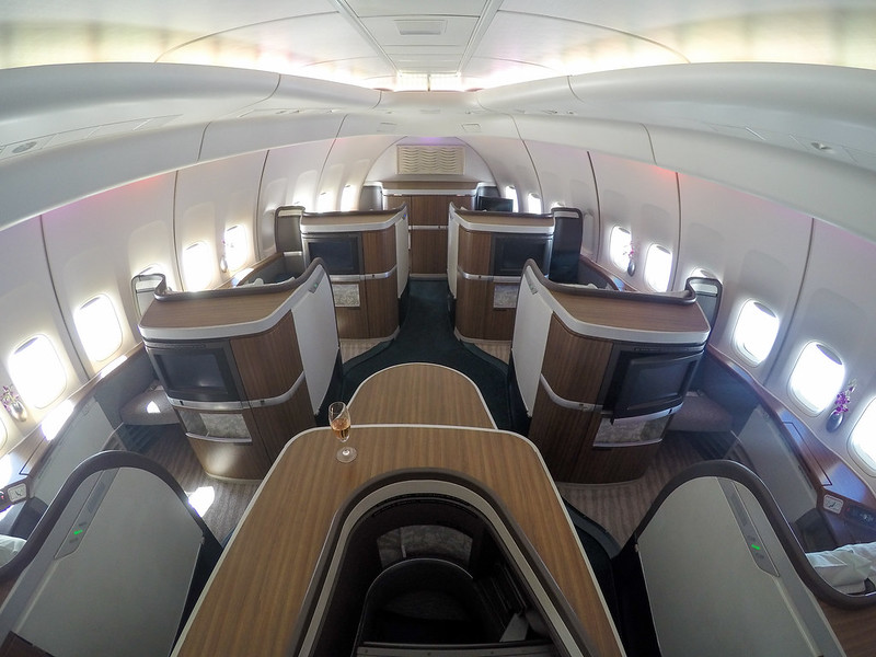 27418711593 3ef6fffd90 c - REVIEW - Cathay Pacific : First Class - Tokyo Haneda to Hong Kong (B747)