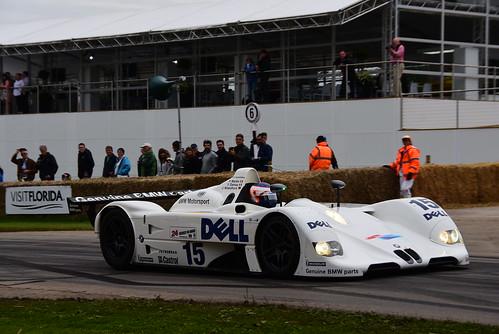 Yannick Dalmas, BMW V12 LM, Goodwood Festival of Speed 2016