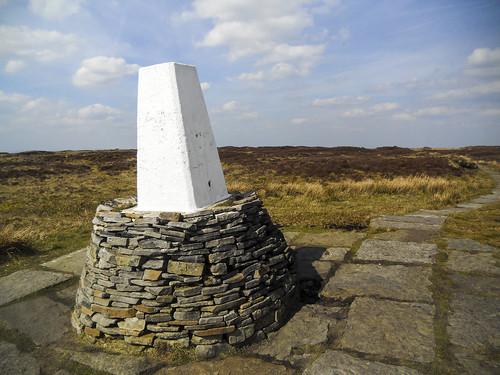 Black Hill trig pillar
