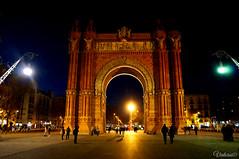 L'Arc de Triomf. Barcelona. Spain