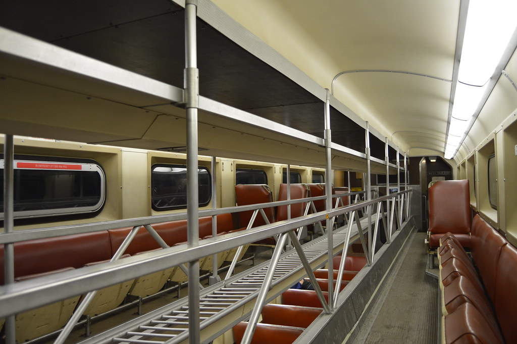 How To Get A Free Car >> Old Style Metra Rail Car Interior | Arvell Dorsey Jr. | Flickr