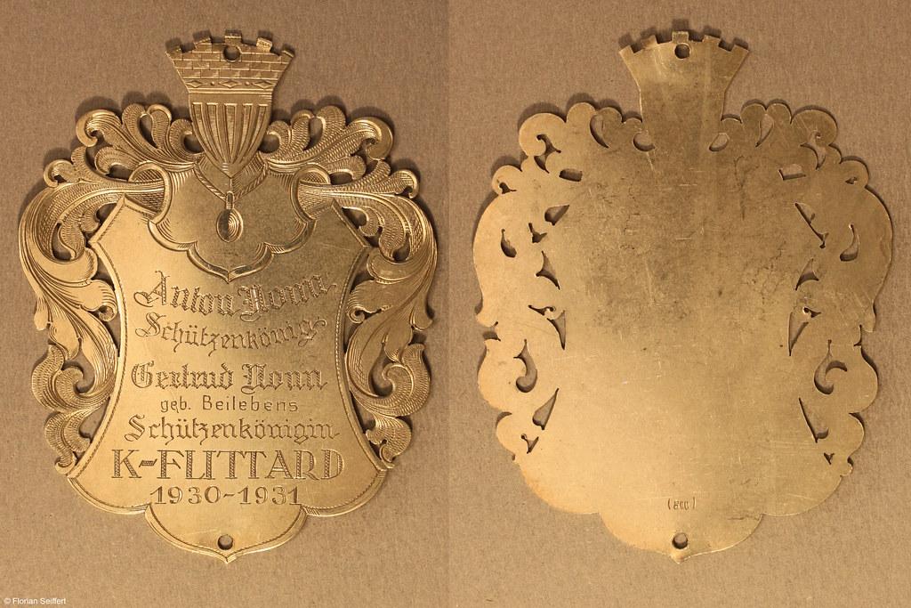 Koenigsschild Flittard von nonn anton aus dem Jahr 1930