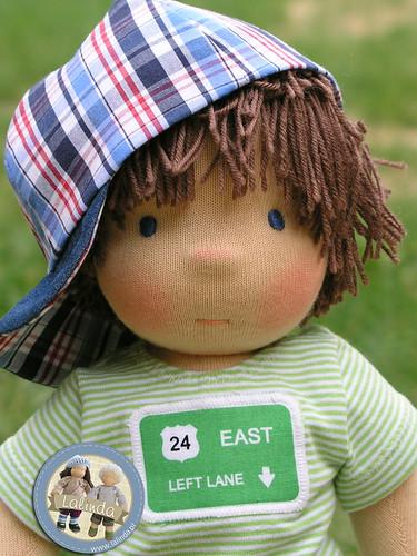 Patrick - waldorf boy doll 14 inch
