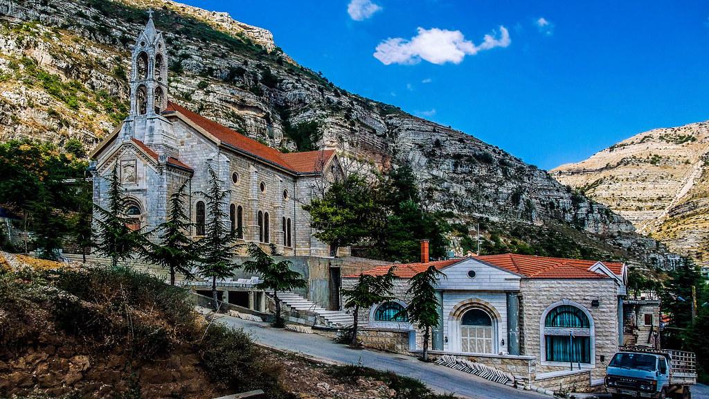 Akoura Church Lebanon Paul Saad S Photostream Flickr