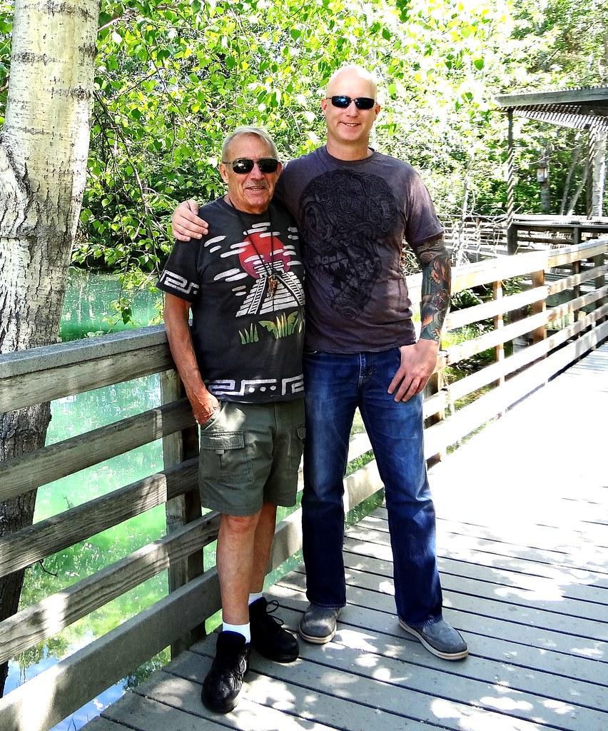 Scott and frank at idaho fish and game mk nature center for Idaho fish and game jobs