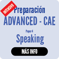 CAMBRIDGE intensives CAE Speaking