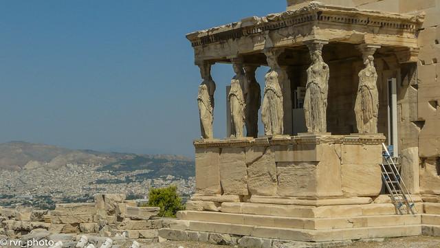 Templo las Cariátides - Acropolis