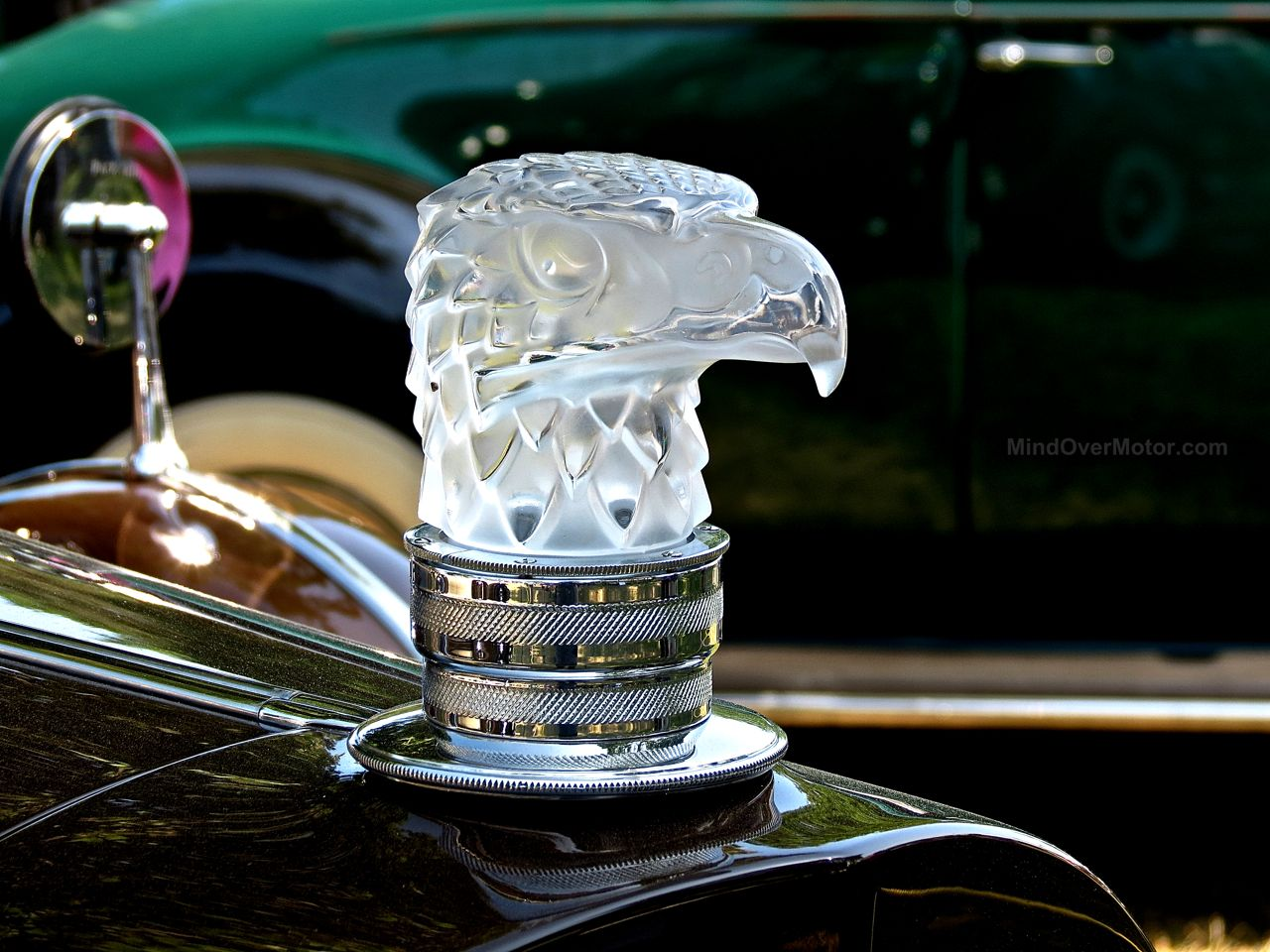 Greenwich Packard Eagle Hood Ornament