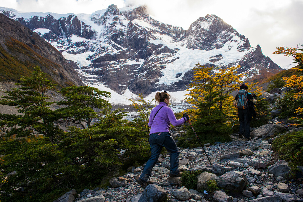 Hiking the W Trek in Autumn along amazing glaciers...