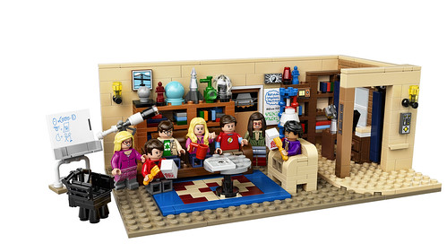 LEGO Ideas 21302, The Big Bang Theory
