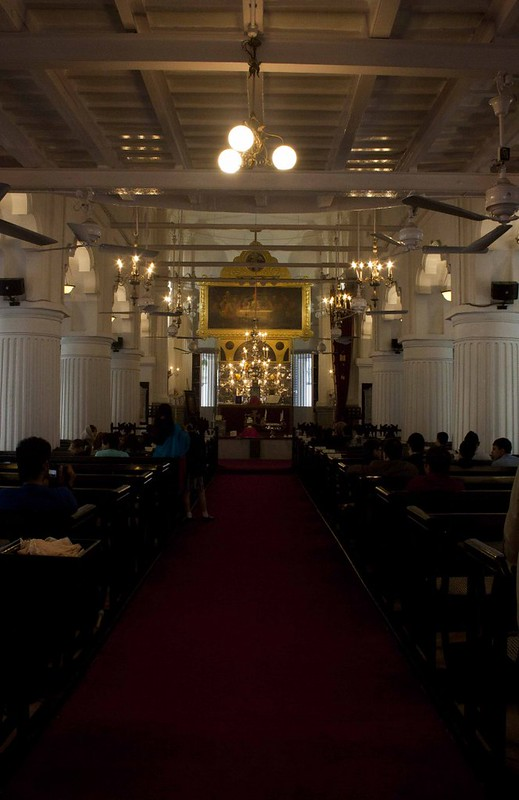 Inside Armenian Church of the Holy Nazareth - Kolkata, India