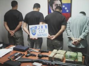 Se hacian pasar por miembros de la OLP y secuestraban a personas en Ciudad Guayana