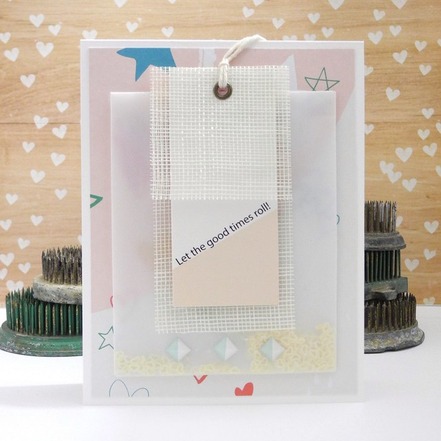 Let the Good Times Roll! by Jennifer Ingle #justjingle #pinkfreshstudio #diy #cards