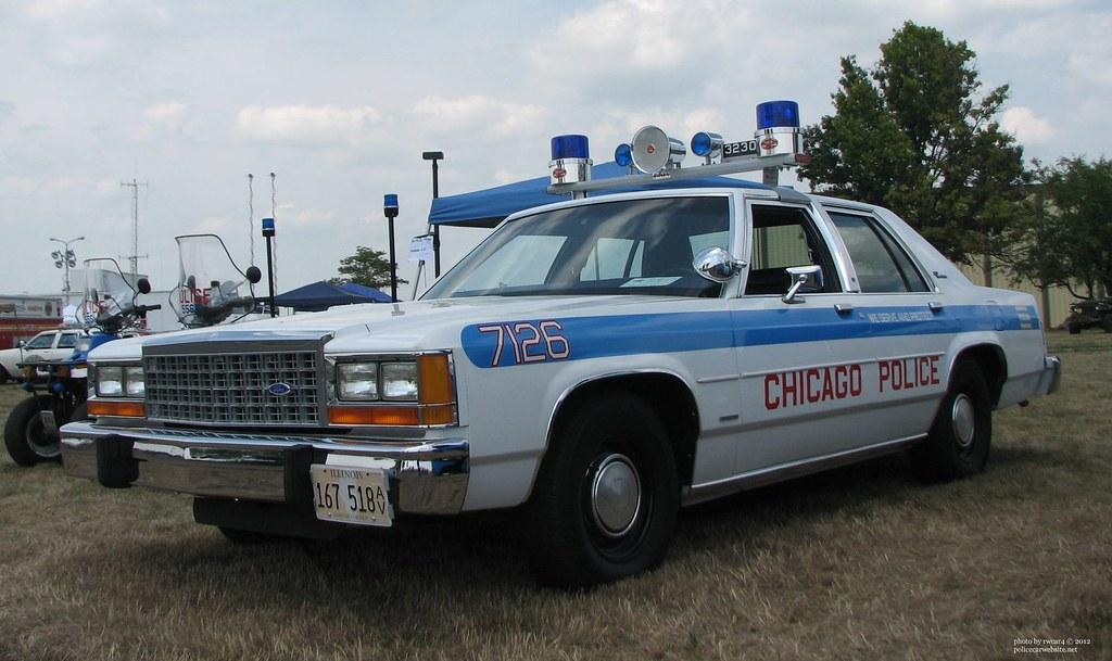 Chicago Il Police 1986 Ford Ltd Crown Victoria Restored