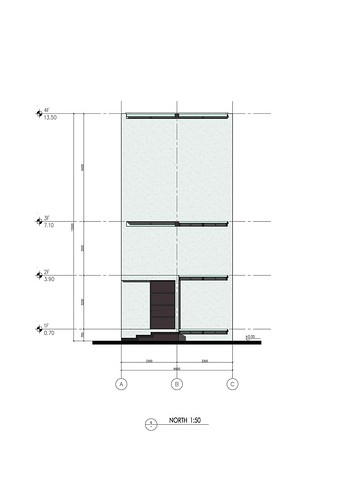 張永和 Atelier FCJZ 非常建築 - 上海垂直玻璃宅