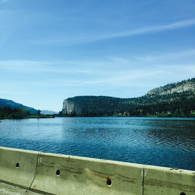 On the way to Osoyoos