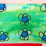 Carte popup fleur - étape 4