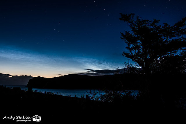 Noctilucent Cloud, Milovaig, Isle of Skye