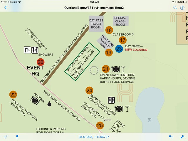 Overland Expo West PDF Map