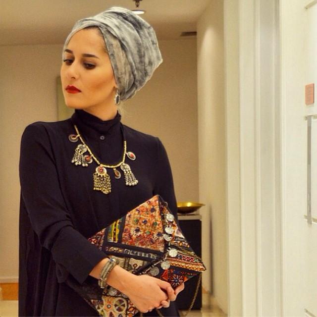 Absolutely Stunning Dina Tokio In A Turban Hijab Style Acc