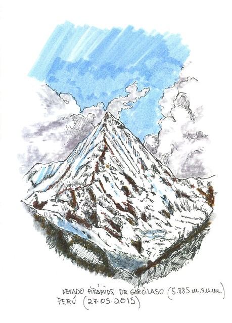 Nevado Pirámide de Garcilaso (5.885 m.s.n.m.)