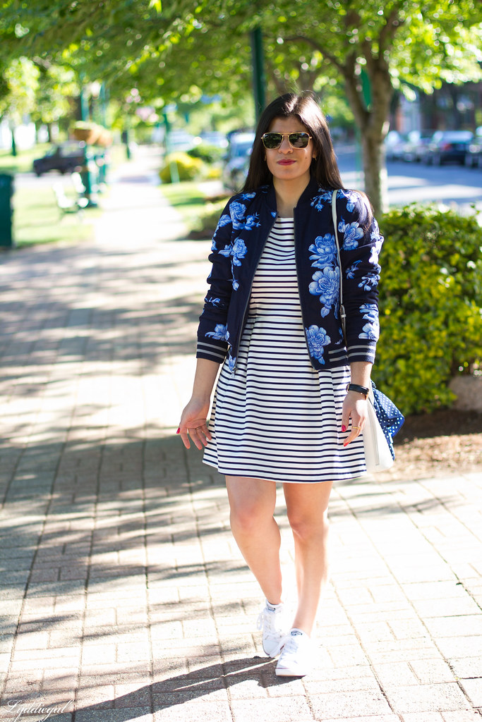 striped dress, floral blazer, converse-1.jpg