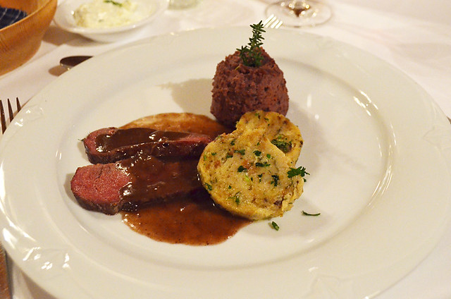 Venison, Waldhotel Fehrenbach, Black Forest, Germany