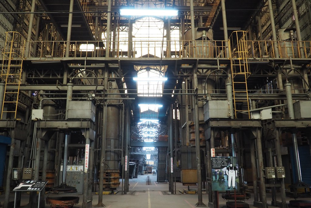 屏東菸葉廠保存9成以上工業遺址,展現屏東產業發展歷史脈絡。攝影:李育琴