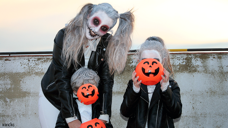 maquillaje Halloween momia