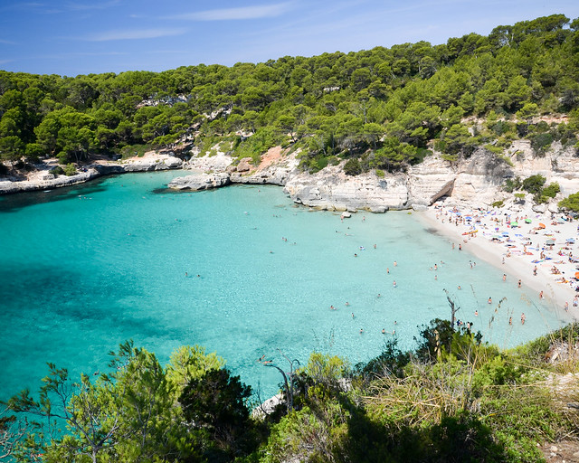 Playa Mitjana y Mitjaneta