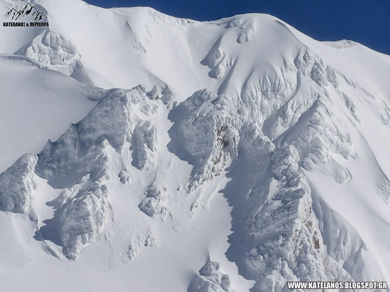 βελουχι ευρυτανιας καρπενησι φωτο τυμφρηστός βουνό χιόνια χειμώνας χιονισμένο βουνό
