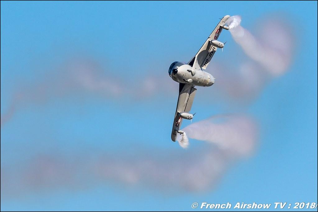 Amici dell hunter Hawker Hunter T. Mk 68 Amici del Hunter HB-RVR/J-4201 Aerotorshow 2018 – Fête aérienne de Valence Chabeuil Canon Sigma France contemporary lens Meeting Aerien 2018