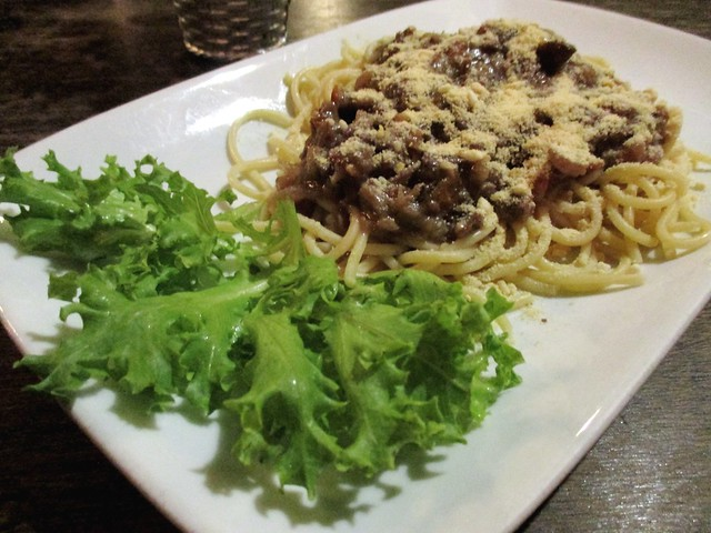Payung Cafe beef spaghetti