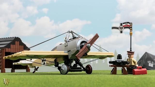 LEGO WW1 Fokker Eindecker
