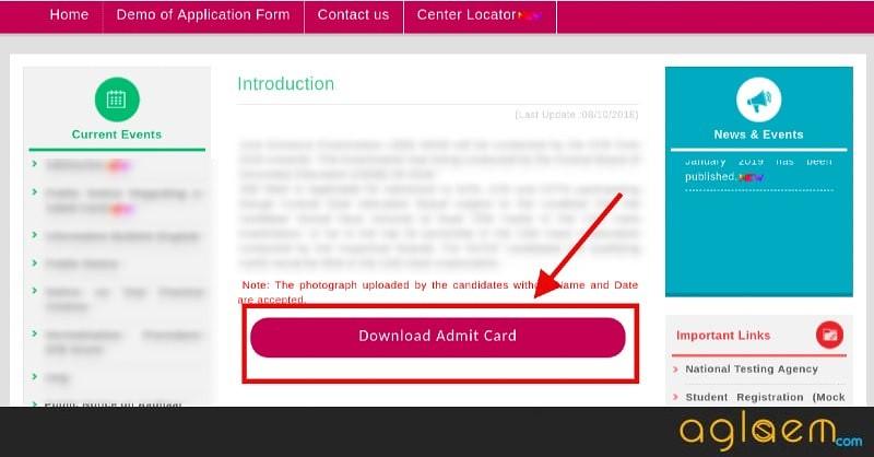 CMAT Admit Card 2019 Download