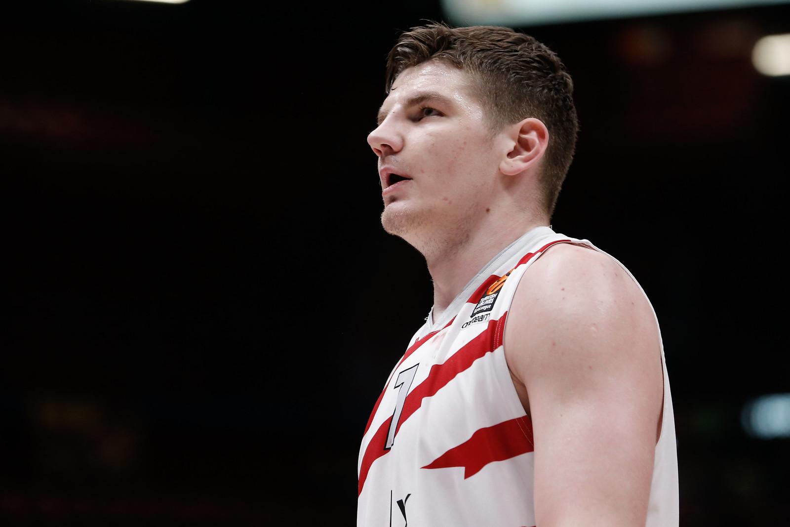 Olimpia's release regarding Arturas Gudaitis injury | Olimpia Milano