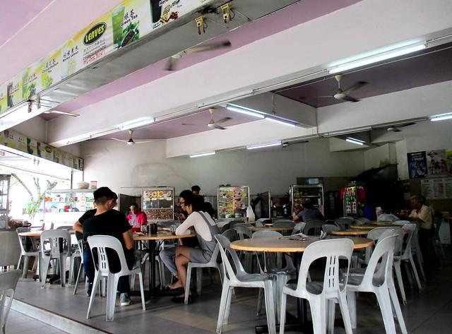 Mas Cafe, inside