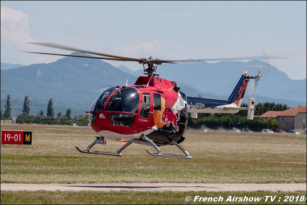 BO105 C The Flying Bulls Aerotorshow 2018 – Fête aérienne de Valence Chabeuil Canon Sigma France contemporary lens Meeting Aerien 2018
