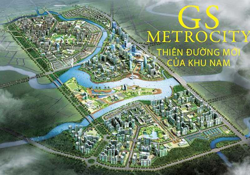 GS Metro City Nhà Bè mang phong cách compound ZeitGeist