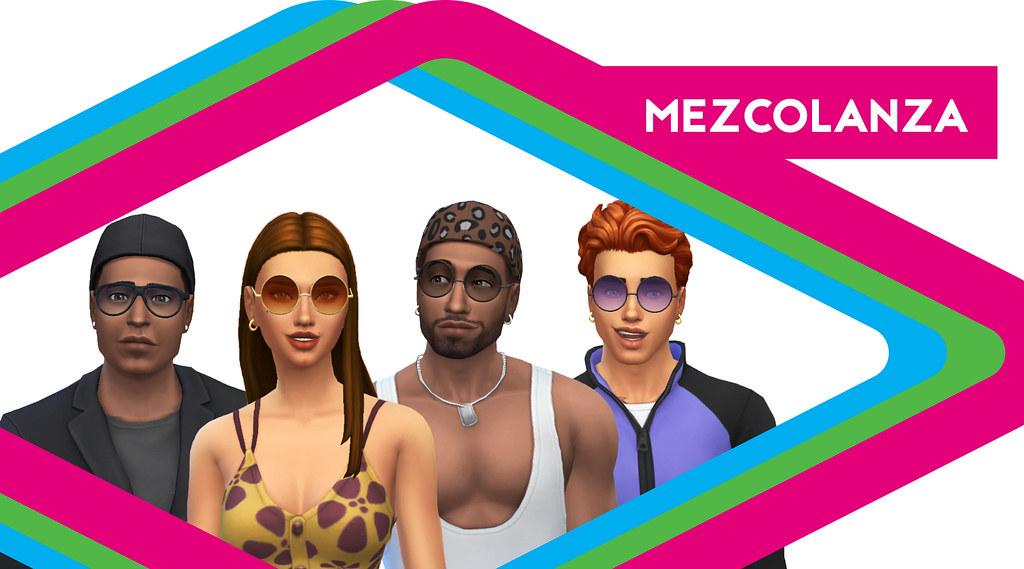 Sims de Antaño: Los Mezcolanza