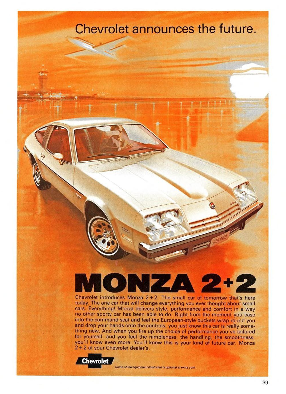 1975 Chevrolet Monza 2+2 - published in Maclean's - October 1, 1974