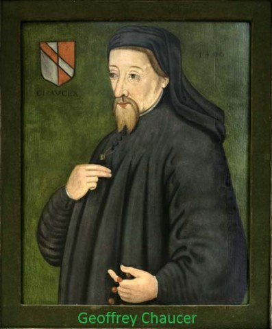 Geoffrey chaucer life and works
