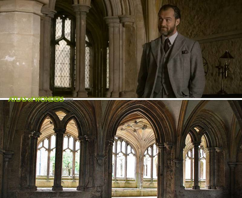 Where was Fantastic Beasts 2 filmed