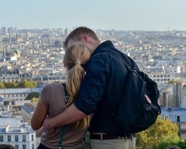 Vistas desde el Sacre Coeur del barrio de Montmartre