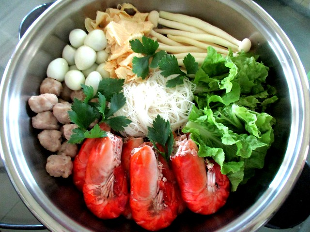 Steamboat at home