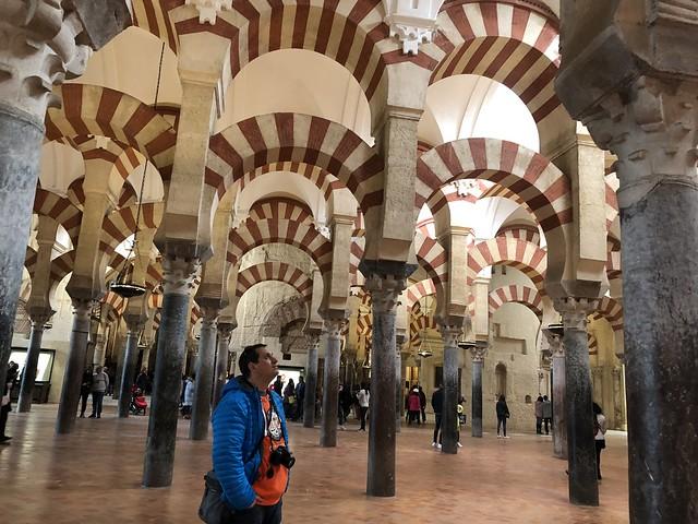 Sele en la Mezquita de Córdoba
