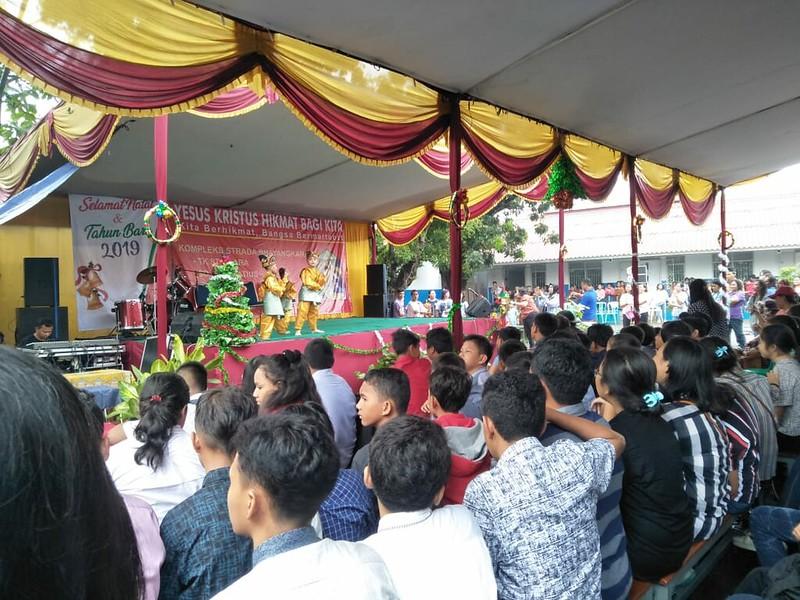 Perayaan Natal Bersama Strada Komplek Bhayangkara