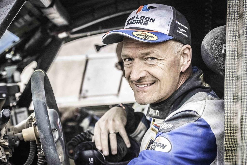 Het is volop genieten voor Van Loon tijdens échte Dakar